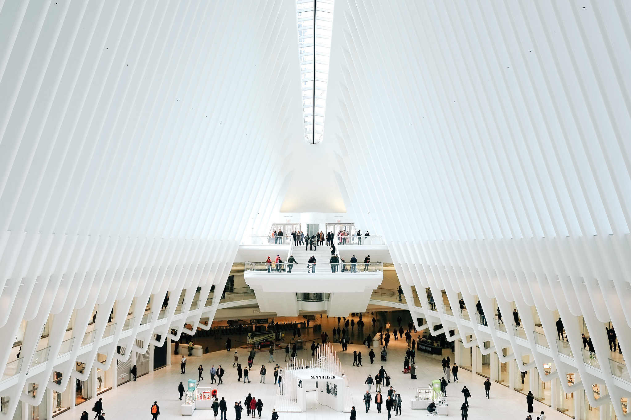 The Oculus at the World Trade Center