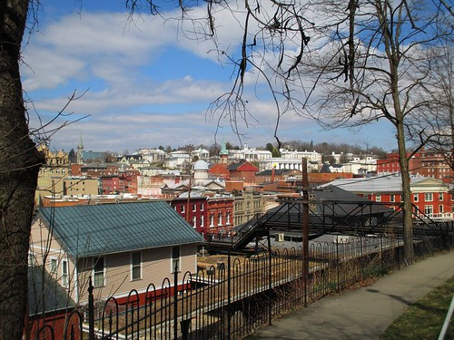view downtown staunton virginia