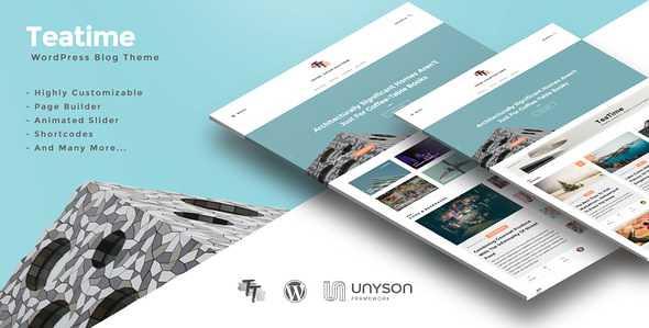 Teatime WordPress Theme free download