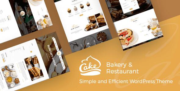 Cake WordPress Theme free download