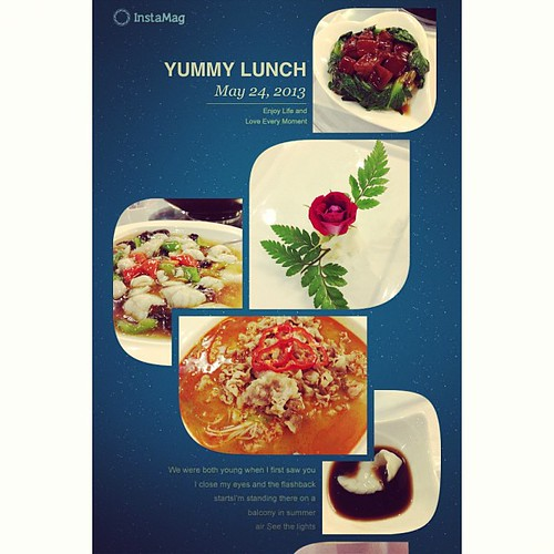 #InstaMag YUMMY LUNCH