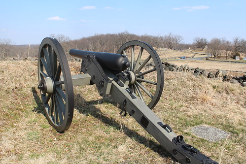 union battery culps hill in background