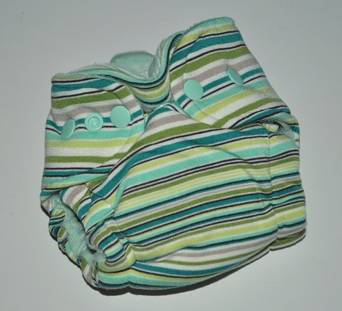 Bumstoppers Newborn Cool Mint Hybrid Fitted **New Style**