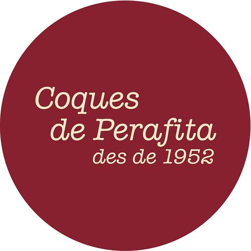 Logotip de la nova marca Coques de Perafita.