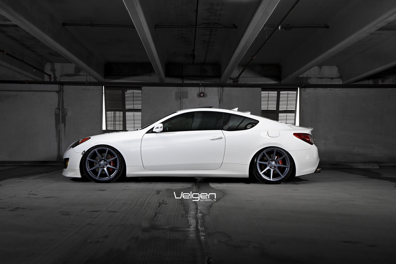 Hyundai Genesis Coupe Lowered On Velgen Vmb8 Clublexus