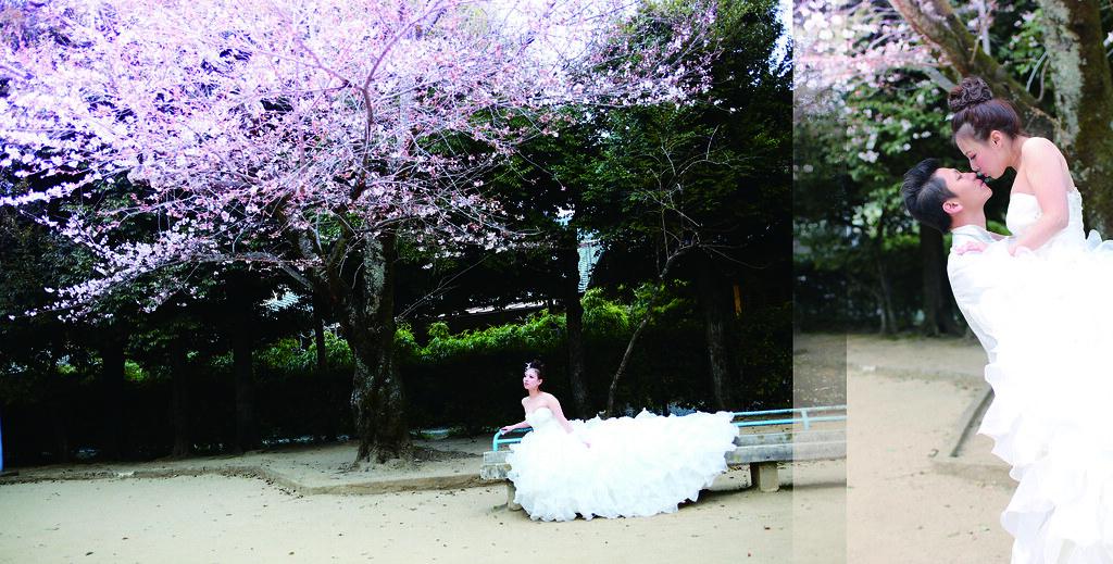 日本京都自助婚紗/君君+阿發
