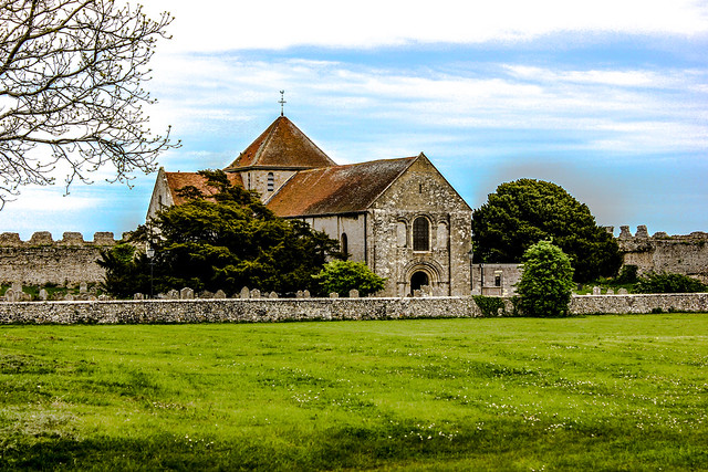 Portchester en Hampshire, Reino Unido