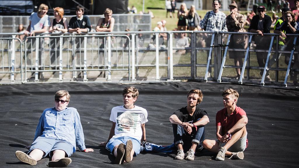Stemningsbilde, Hovefestivalen 2013
