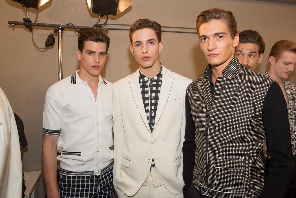 SS14 Milan Bottega Veneta101_Simon van Meervenne,Constantin Liesner,Matvey Lykov(fashionising.com)