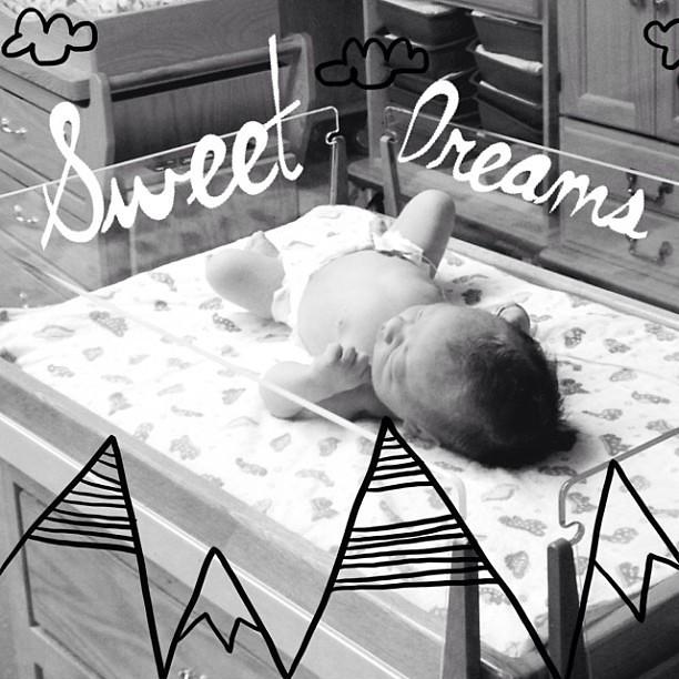 Baby dreams.