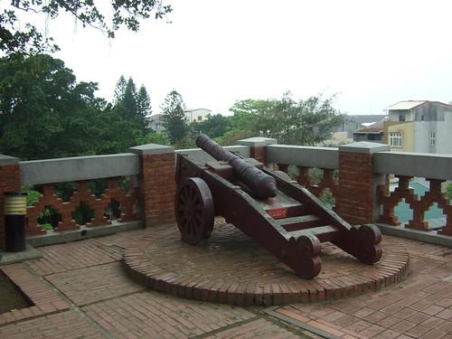 安平古堡・海防砲