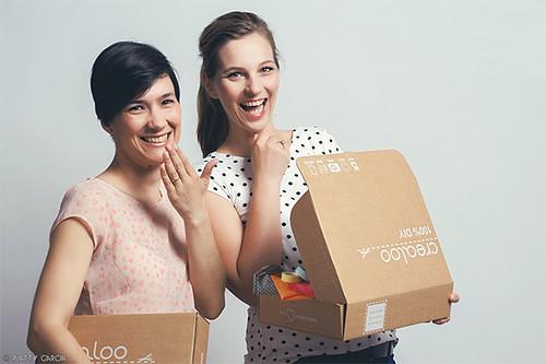 Crealoo somos Elisa y Fanny