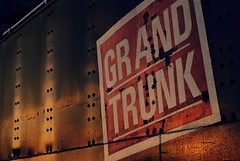 Grand Trunk RR coal wagon