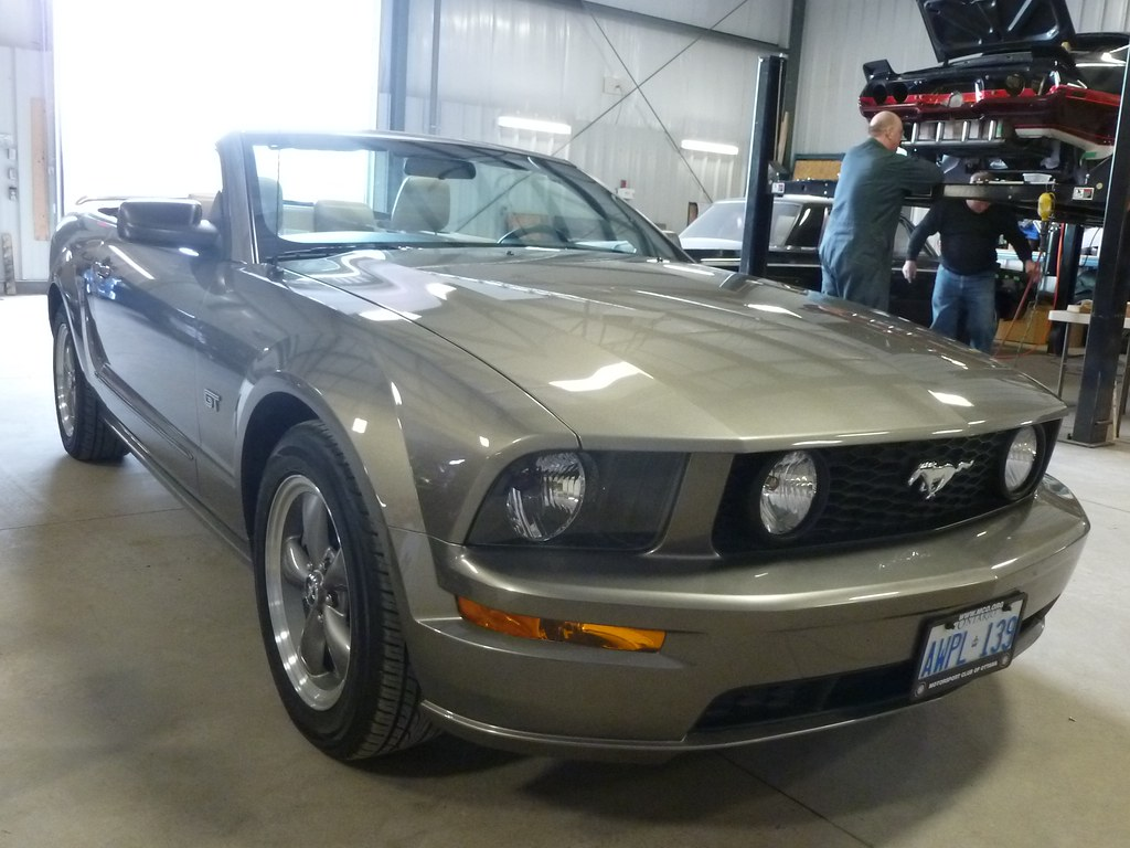 2009 Ford Mustang Gt Convertible Wicked Garage Inc