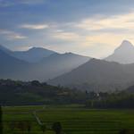 Atardecer en Picos de Europa, Cantabria, España.