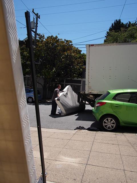 Salvation Army Ruining a mattress