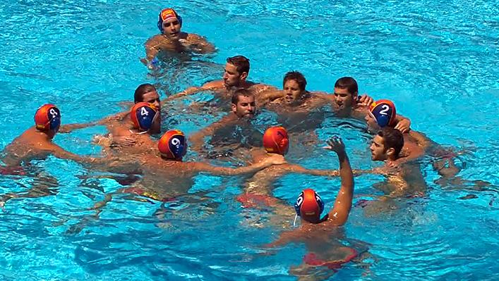 Waterpolo equipo español