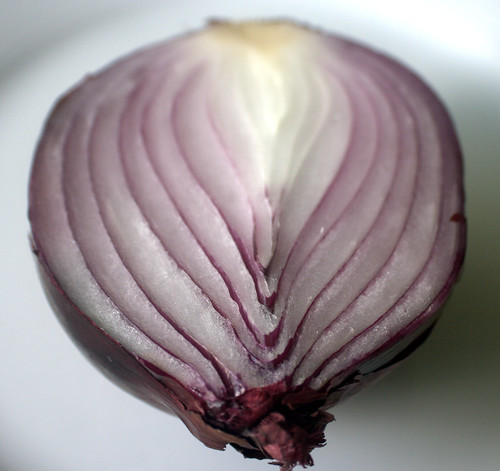 red onion lines