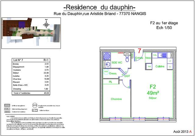 Résidence du Dauphin - Plan de vente - Lot n°7