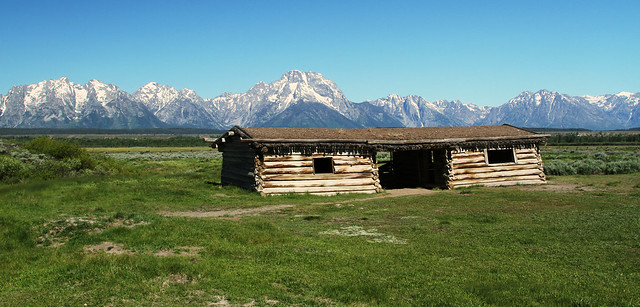 Cunningham Cabin: Grand Teton National Park
