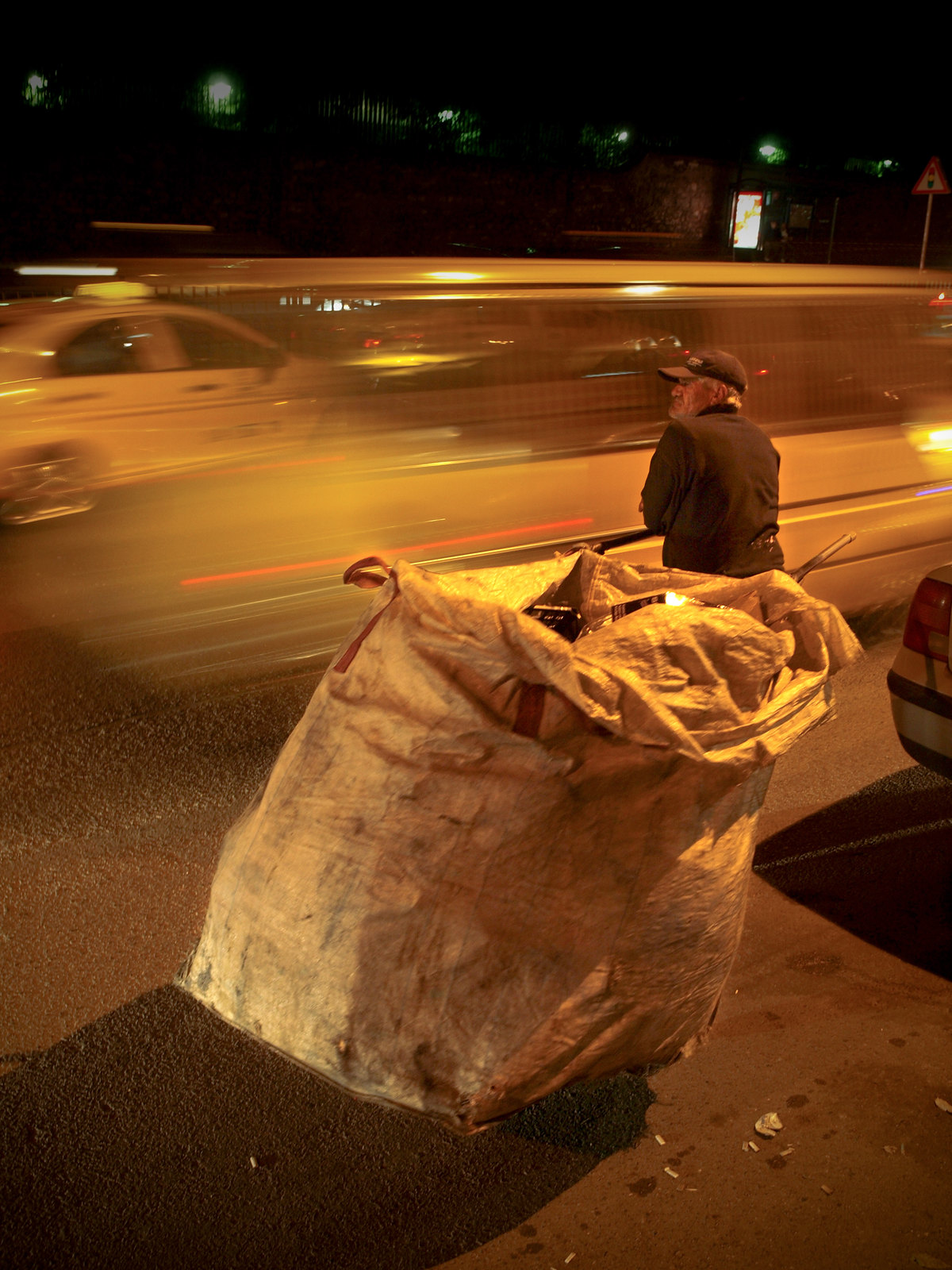 Portraits d'Istanbul - le recycleur