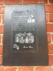 Photo of John Shakespeare black plaque