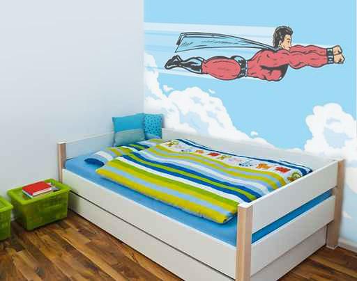 Superh roe decoraci n de paredes decoraci n de habitaciones infantiles juveniles cuadros - Decoracion paredes habitaciones juveniles ...