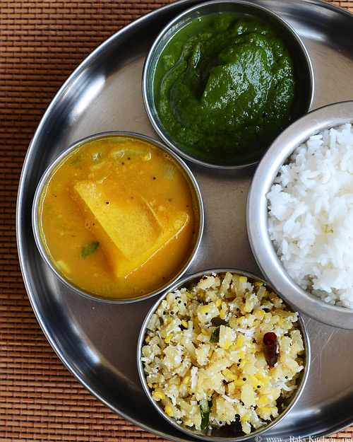 lunch menu 16 simple south indian lunch raks kitchen