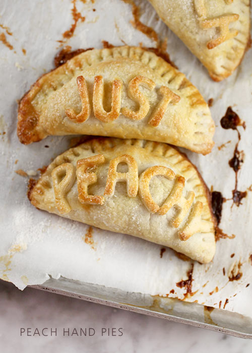 Just Peachy Handpies