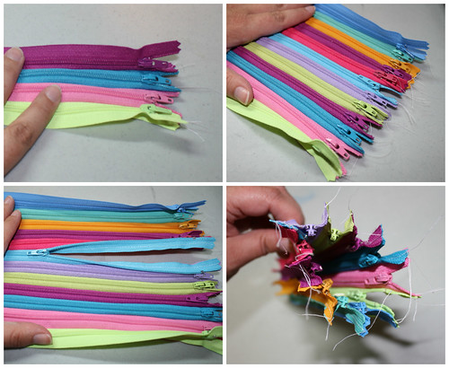 Zipper pouch step 2