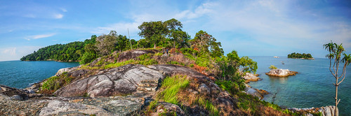 Berhala Island at Berhala Strait of Indonesia by Haryadi Be