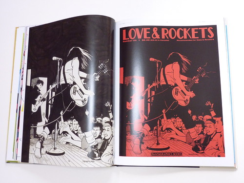 Love and Rockets: The Covers by Gilbert, Jaime, and Mario Hernandez - pages