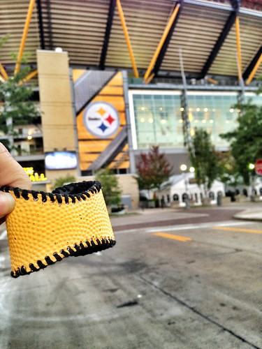 Steelers Football Cuff