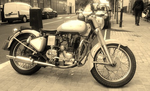 A Royal Enfield Classic