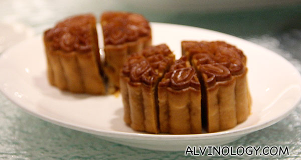 Mooncakes of course