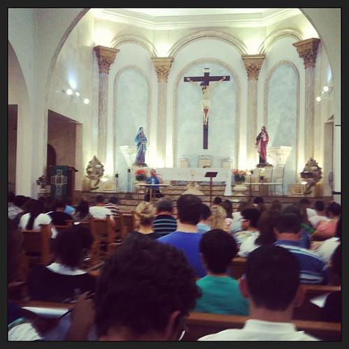 Curso de liturgia em Bastos....
