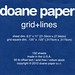 Small photo of Doane Paper Review Images