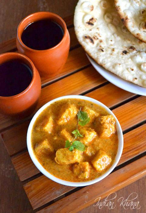 Paneer makhani recipe,paneer makhanwale,butter paneer recipe,paneer ...