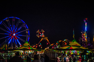 Midway and Rides