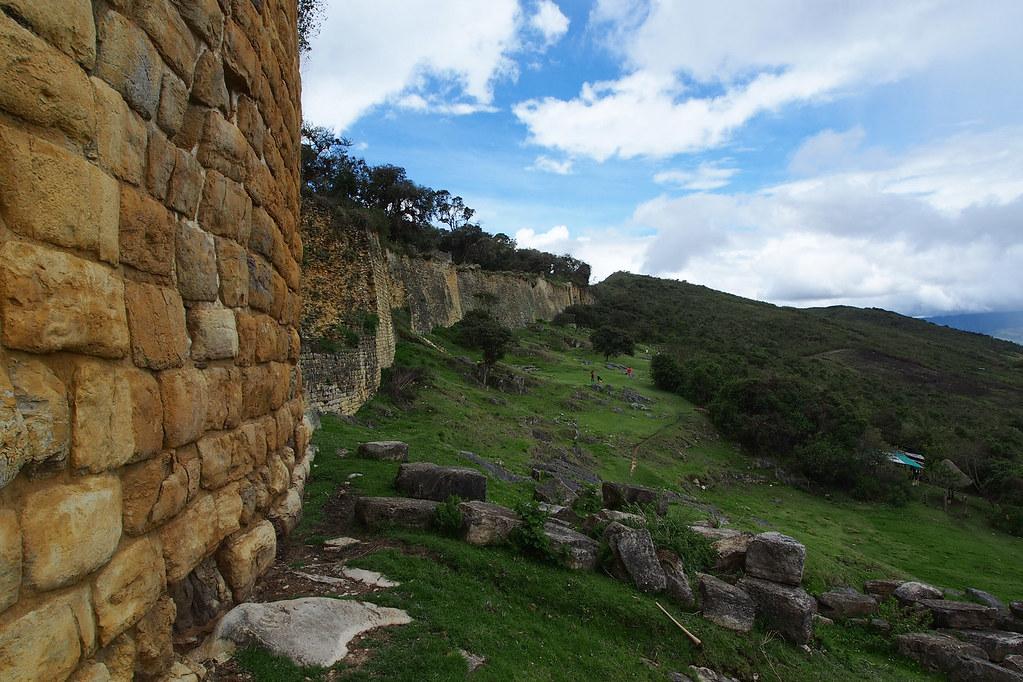 Kuelap Chachapoyas Wall