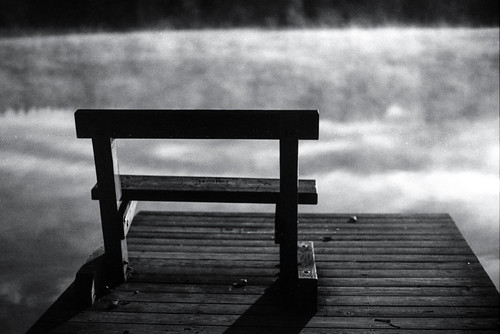 Bench and Fog #2