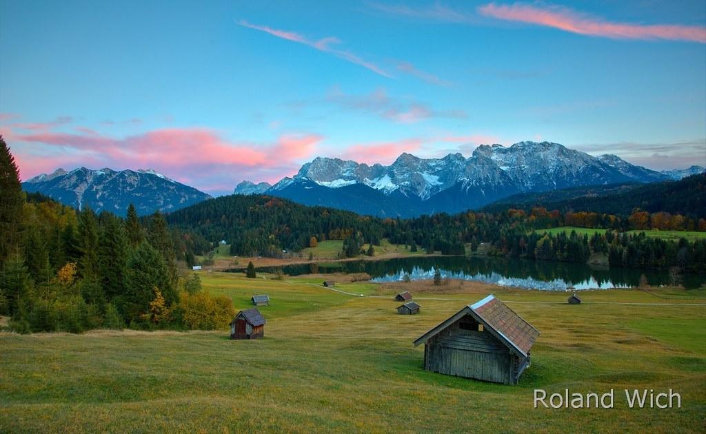 Das Kranzbach, Bavaria images
