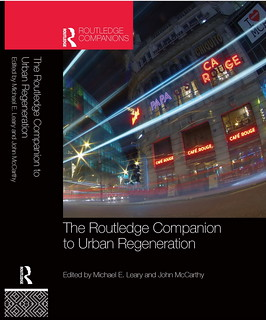"Cool Night Cover - ""The Routledge Companion to Urban Regeneration"" - book cover"