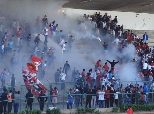 بطولة القسم الثاني : اتحاد المحمدية و نادي المكناسي في ملعب البشير