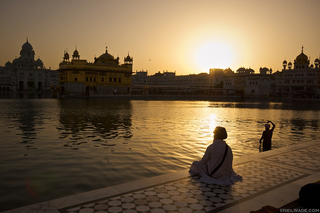 Amritsar[x] View photos from you or from everyone Asia[x] beliefs[x] clean[x] Golden Temple[x] Hindu[x] holy[x] India[x] meditate[x] peaceful[x] pray[x] religion[x] Sikh[x] sit[x] subcontinent[x] sunset[x] swim[x] temple[x] The Golden Temple[x] turban[x] worship