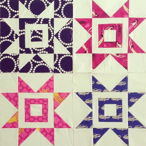 Four down, 60 to go :) #quiltforkat