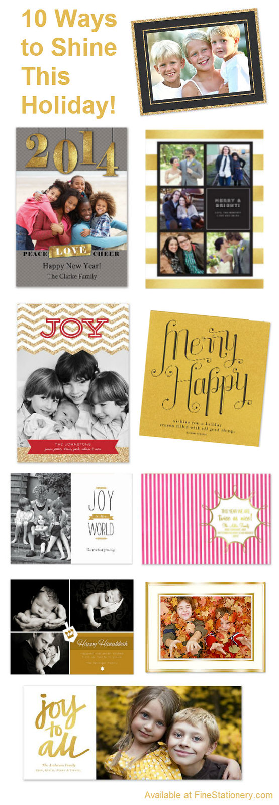gold-holiday-cards