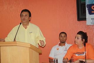 O prefeito de Taboão da Serra, Fernando Fernandes