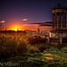 Sunset over Edinburgh by StuMcMillan