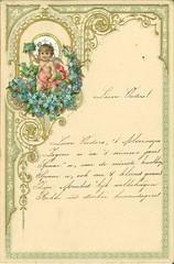 Archief Drees, Nieuwjaarswens Jansje / Archive Drees, New Year wishes from Jansje